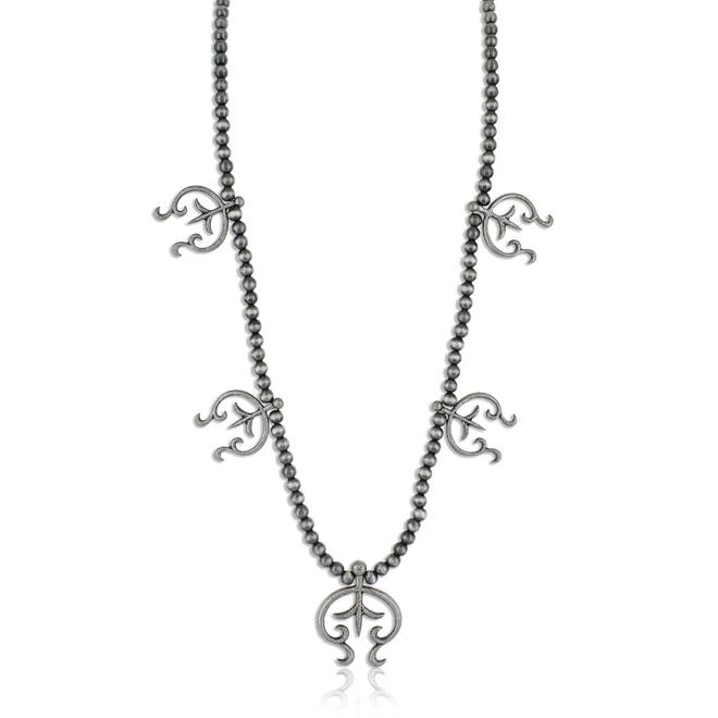 Fleur-de-Love Lily Attitude Necklace