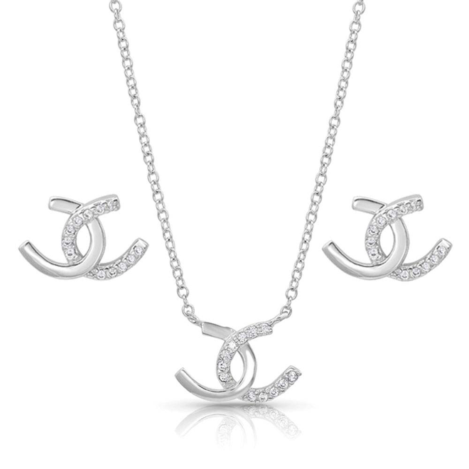 Horseshoe Happiness Jewelry Set