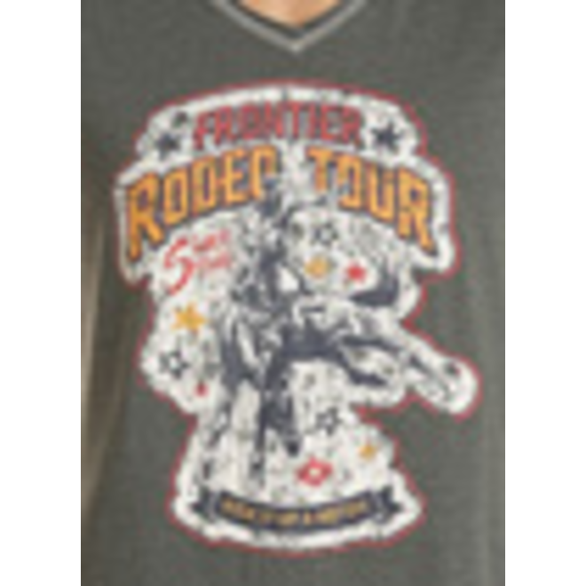 Ladies Thyme Rodeo Graphic Tee