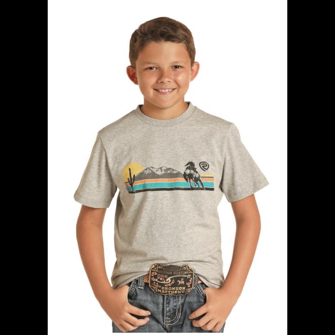 Boys Sunset Bronc T-Shirt