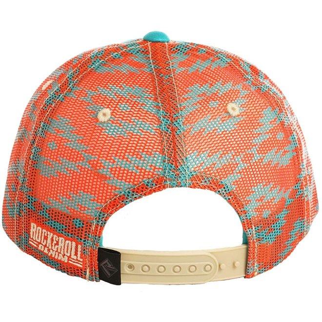 Mens Aztec Print Cap