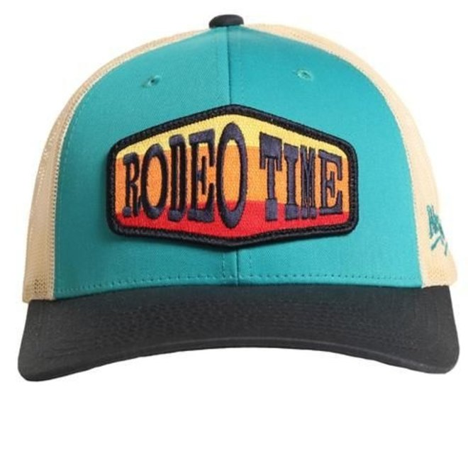 Mens Rodeo Time Patch Cap
