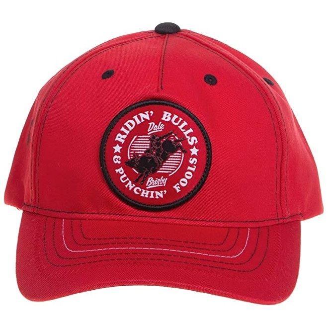 Mens Red Graphic Cap