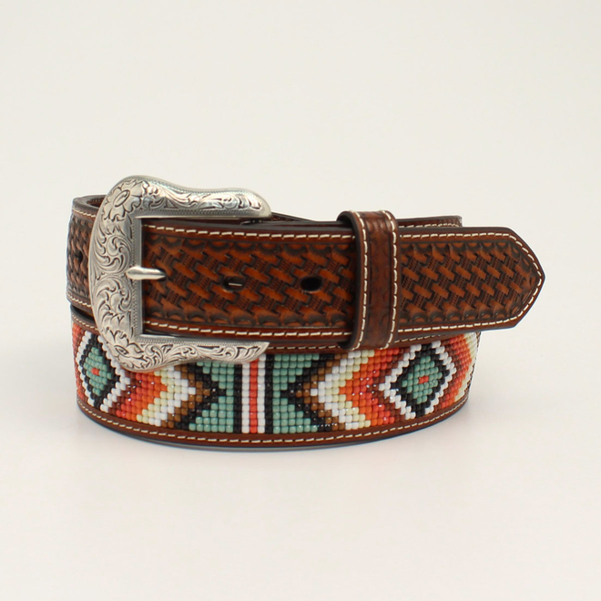 Diamond Beaded Belt