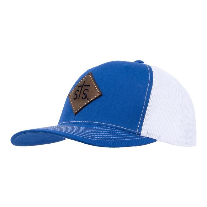STS Cut Out Patch Royal Hat