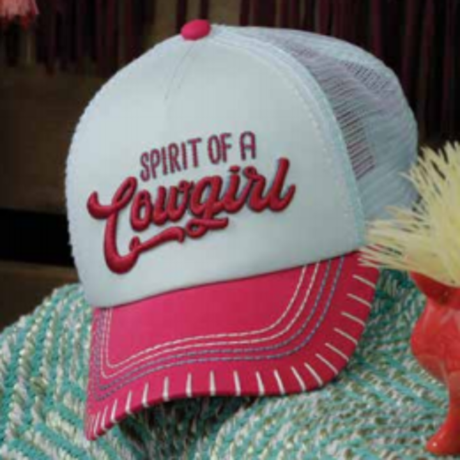 Girls Spirit of A Cowgirl Cap