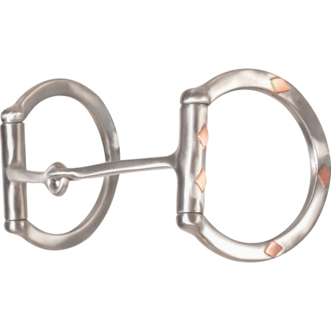 Sherry Cervi D Ring Square Snaffle