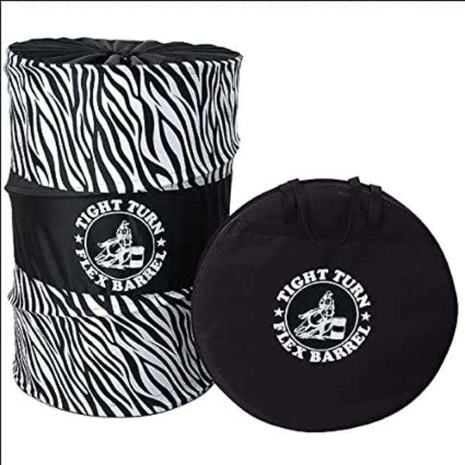 Tight Turn Flex Barrels Zebra