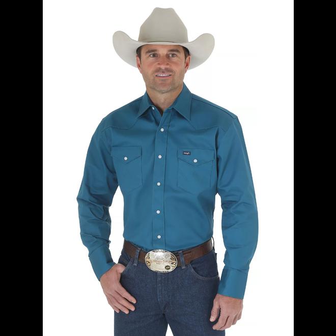 Cowboy Cut Twill Work Shirt
