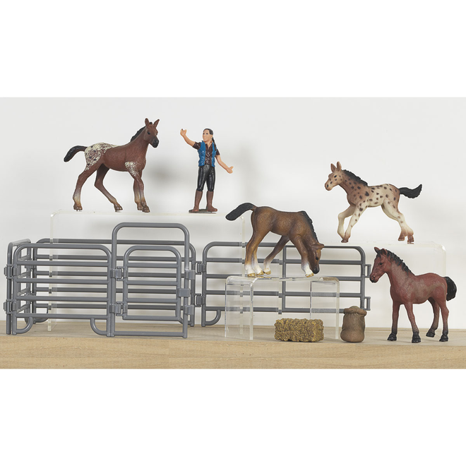 Bigtime Barnyard Foal Set