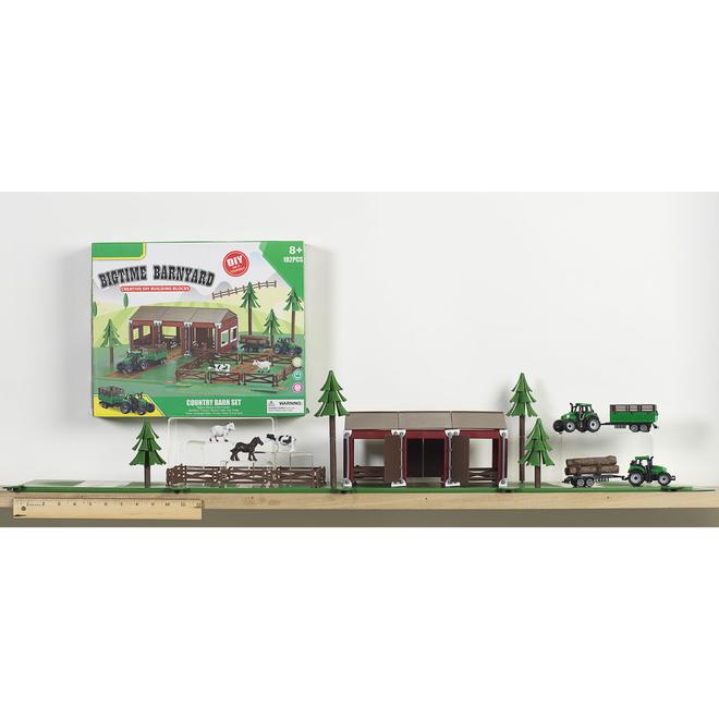 Bigtime Barnyard Country Barn Set