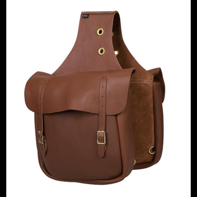 Chap Leather Saddle Bag