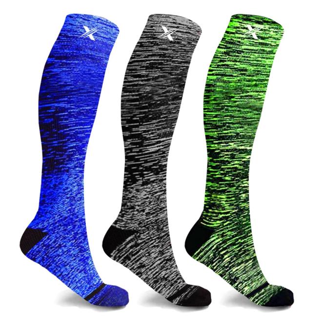 Space Dye Compression Socks