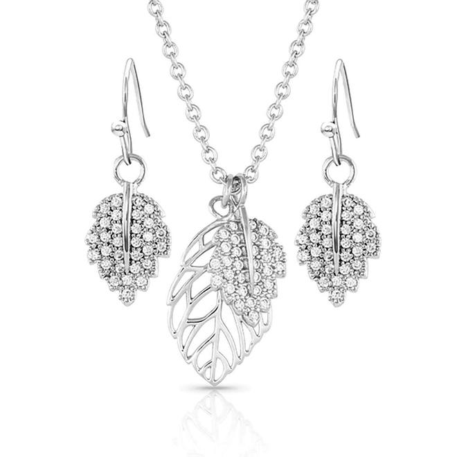 New Growth Silver Jewelry Set