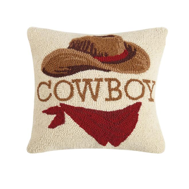 Cowboy Hook Pillow