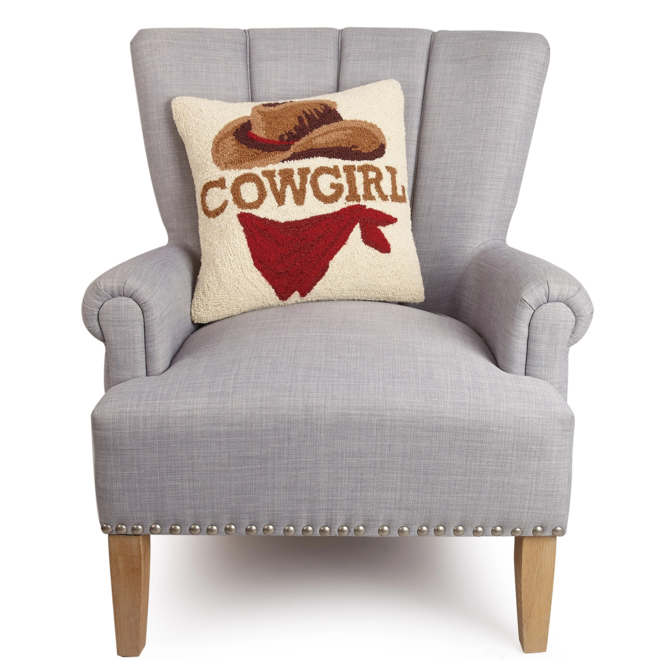 Cowgirl Hook Pillow