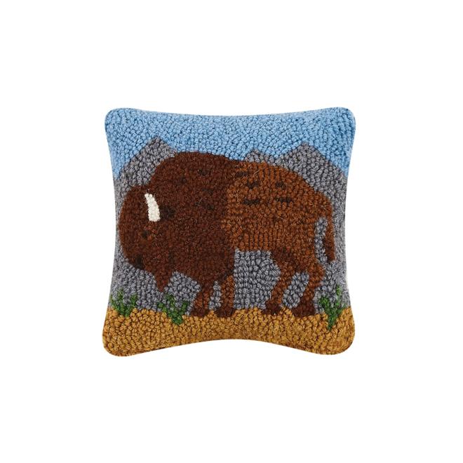 Buffalo Hook Pillow