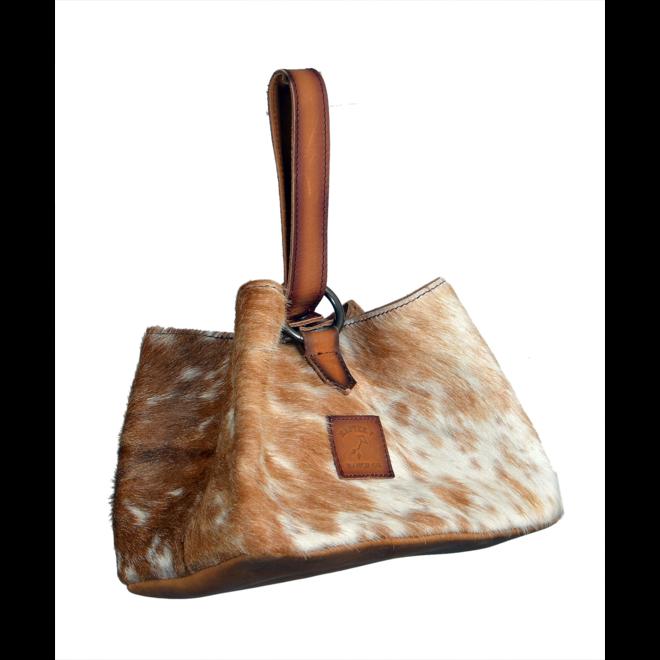 Brown Hair On Sack Bag