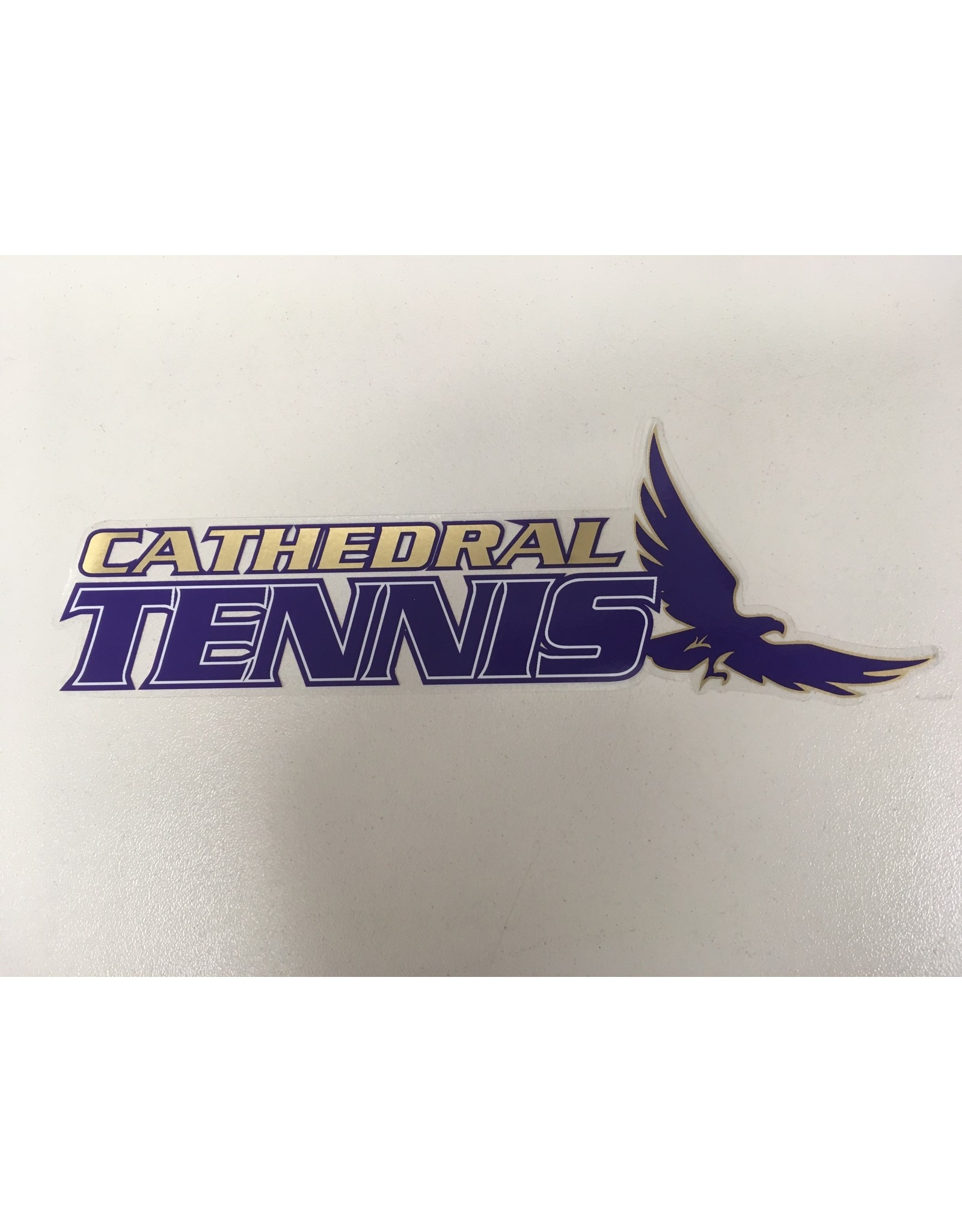 DECAL-CATHEDRAL TENNIS
