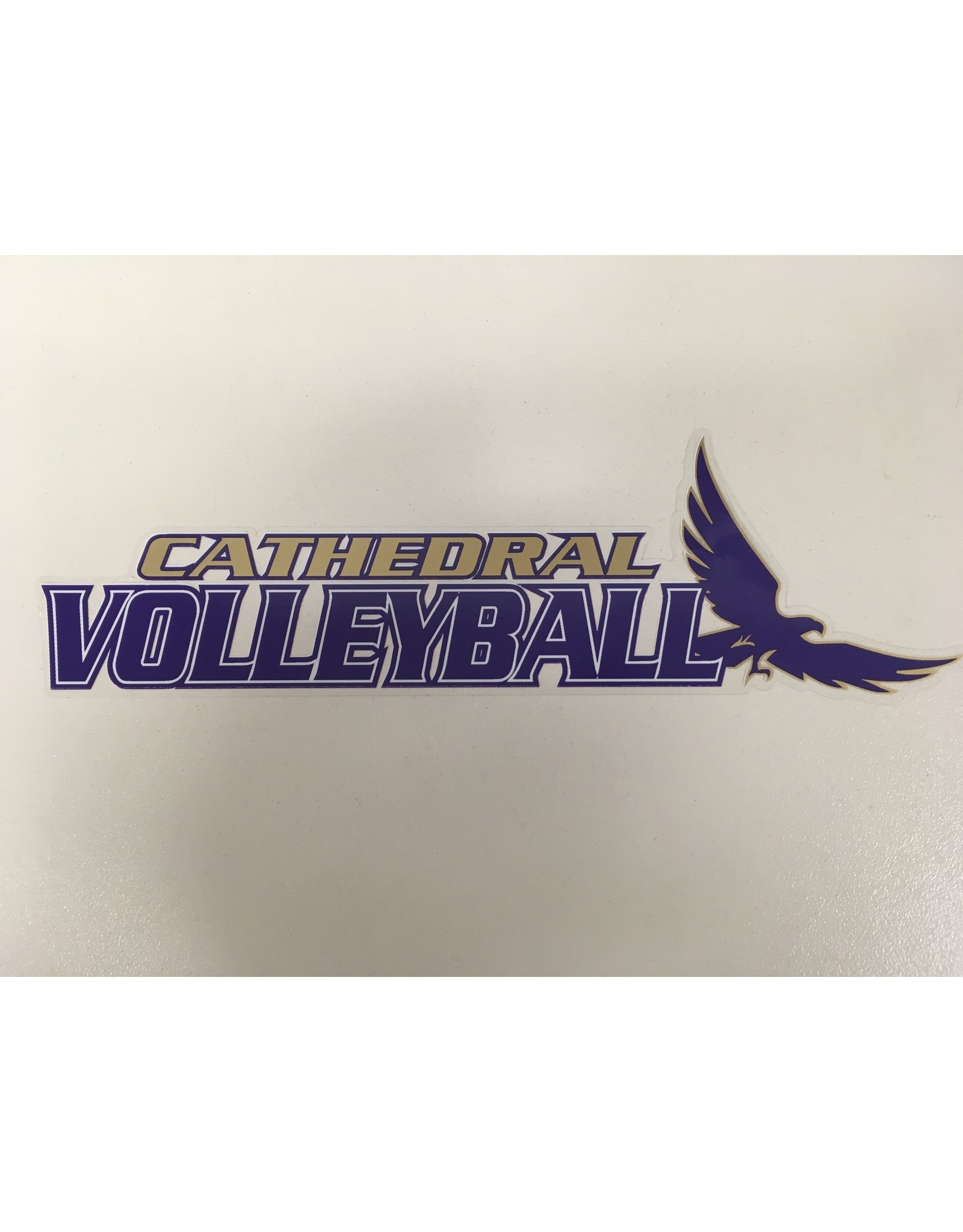 DECAL-CATHEDRAL VOLLEYBALL