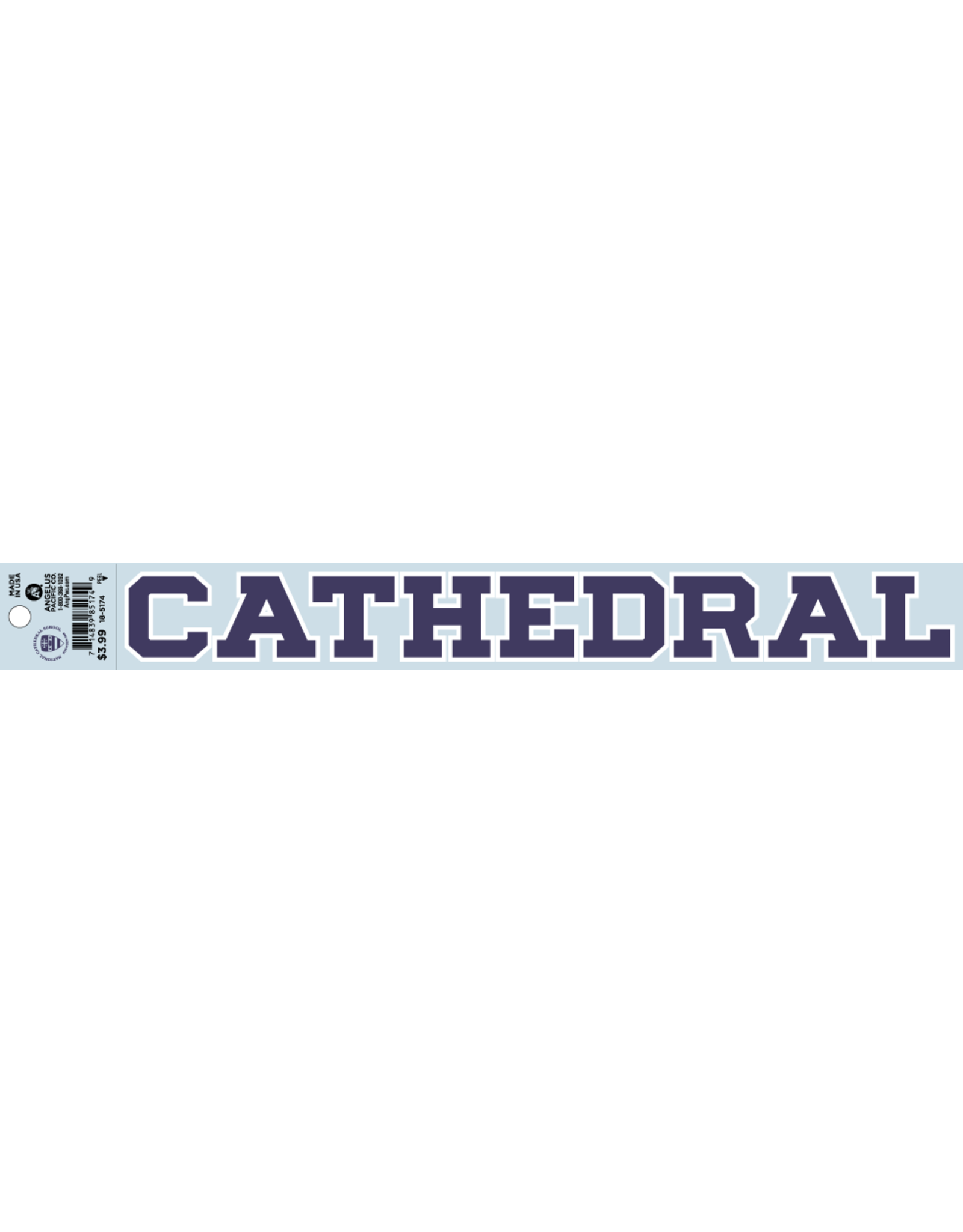 DECAL-CATHEDRAL PUR/WHT