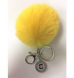 KEY TAG-PUFF GOLD CHARM