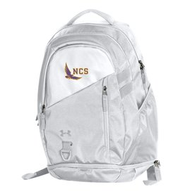 BACKPACK-WHITE W/NCS EAGLE
