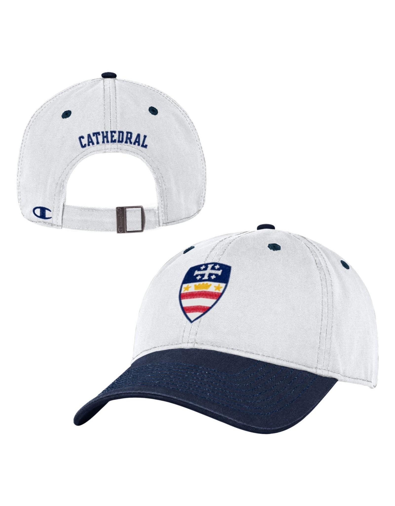 HAT-NCS CREST-WHITE W/NAVY