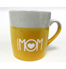 MUG-MOM LOVE-YELLOW