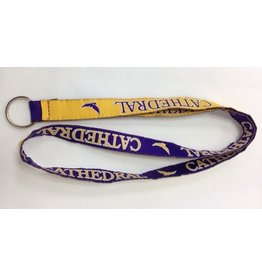 LANYARD-PURPLE/GOLD EAGLE