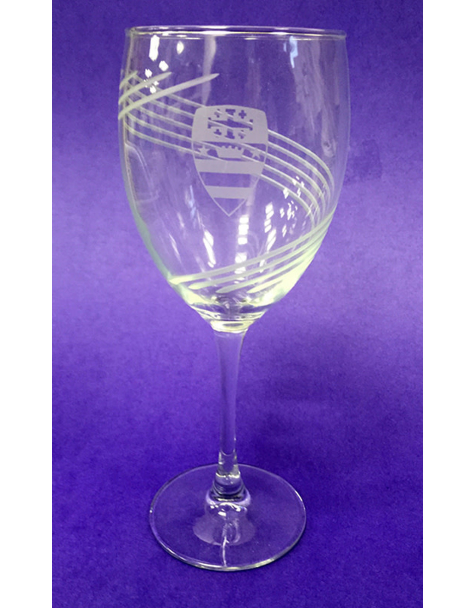 WINE GLASS WITH SEAL