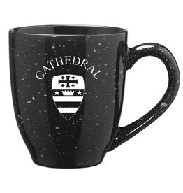 MUG SPECKLED BLACK
