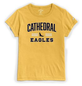 TSHIRT WOMENS-CATHEDRAL EAGLES
