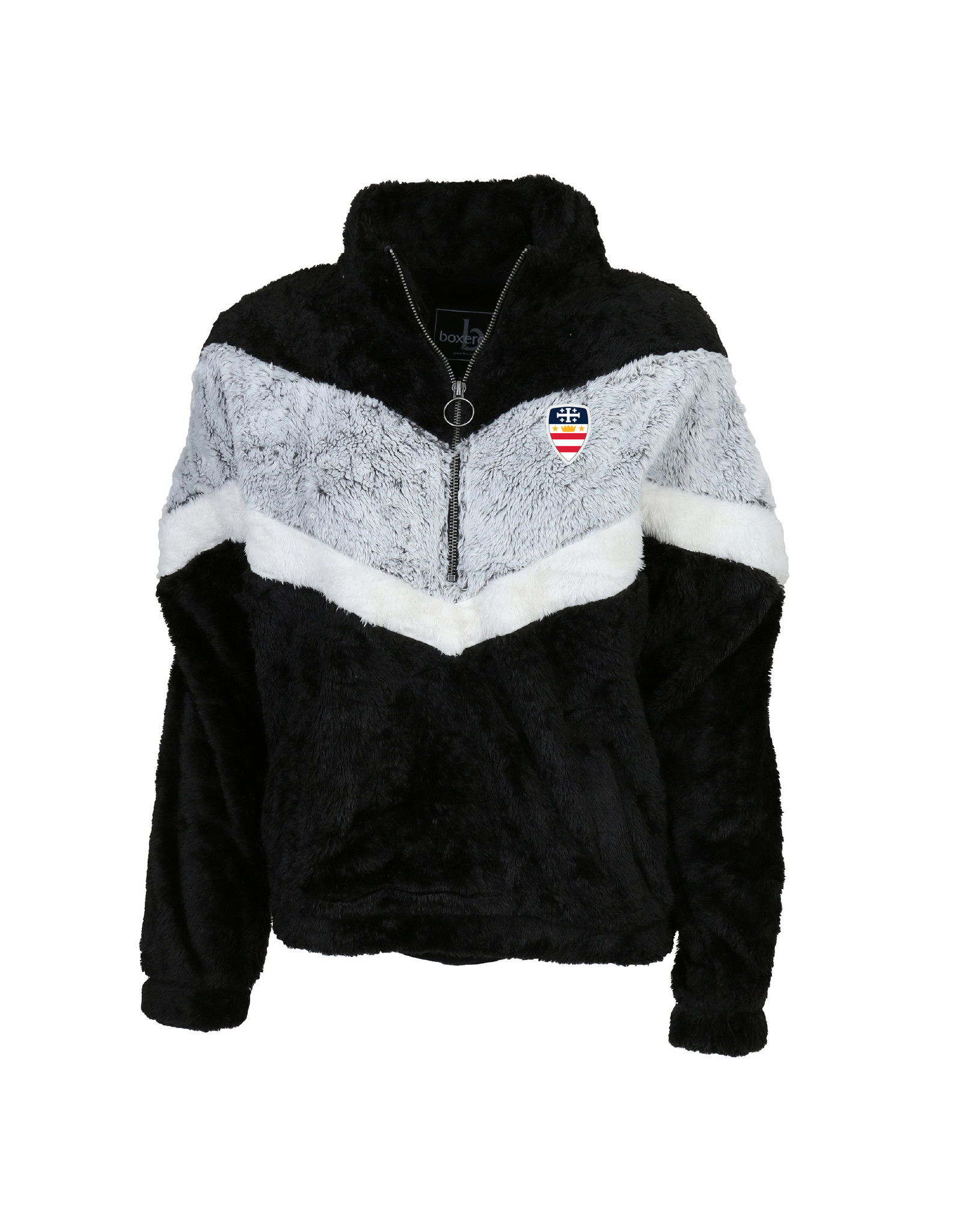 1/4 ZIP YOUTH CHEVRON