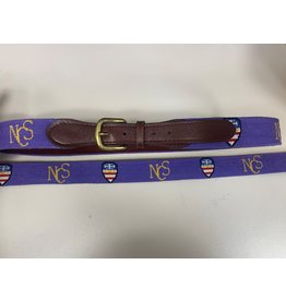 BELT-NEEDLEPT PURPLEW/CREST
