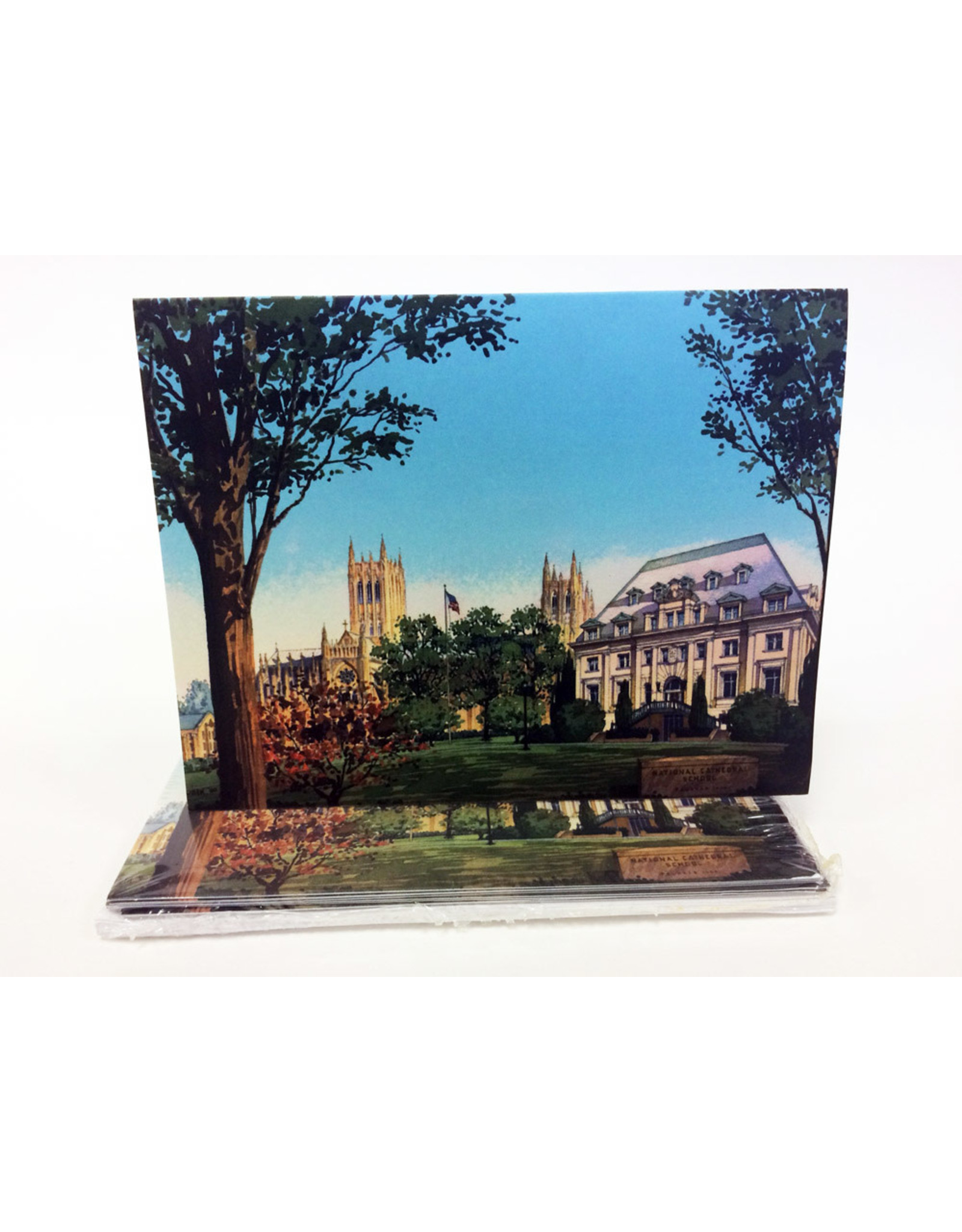 NOTECARDS-HEARST WATERCOLOR