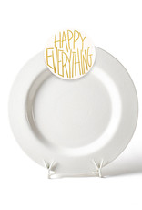 Happy Everything White Small Dot Entertaining Big Platter