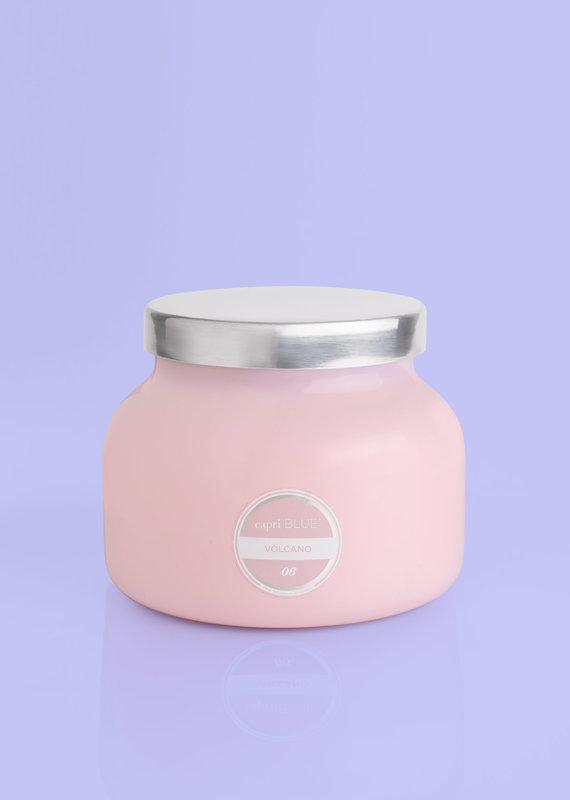 Capri Blue Volcano Signature Candle- Bubblegum Pink