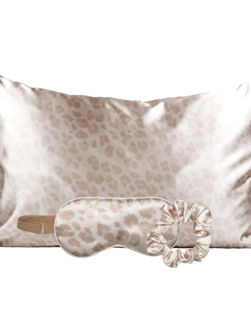 Kitsch Satin Sleep Set- Leopard