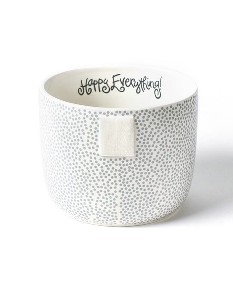 Happy Everything Stone Small Dot Mini Bowl