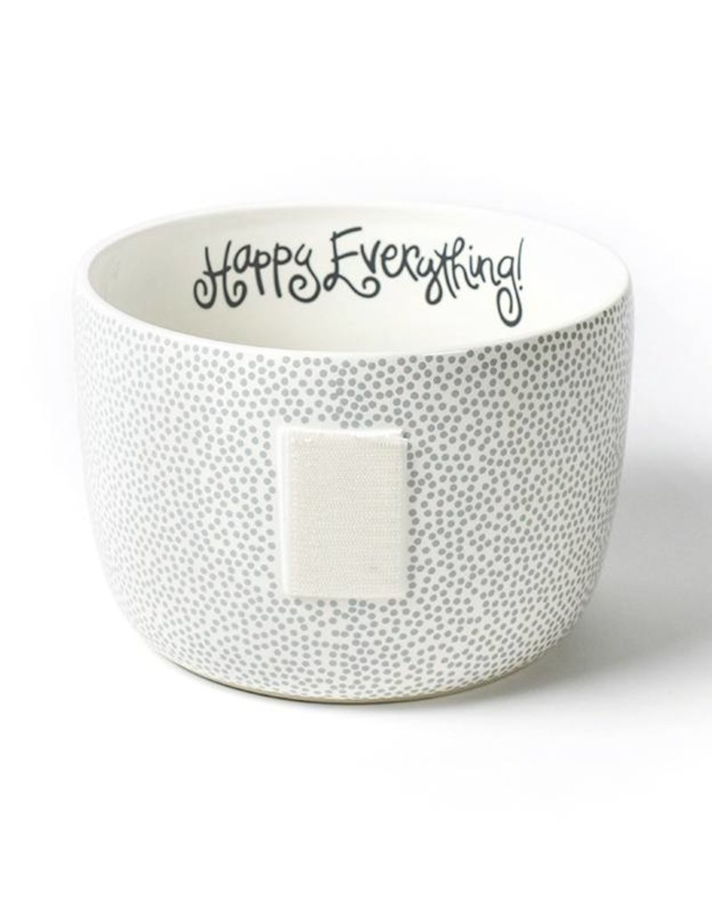 Happy Everything Stone Small Dot Big Bowl