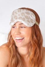 Kitsch Satin Eye Mask-Leopard