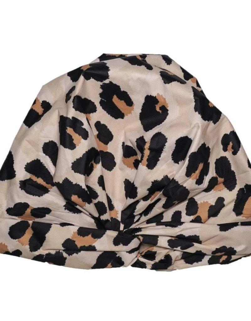 Kitsch Leopard Shower Cap