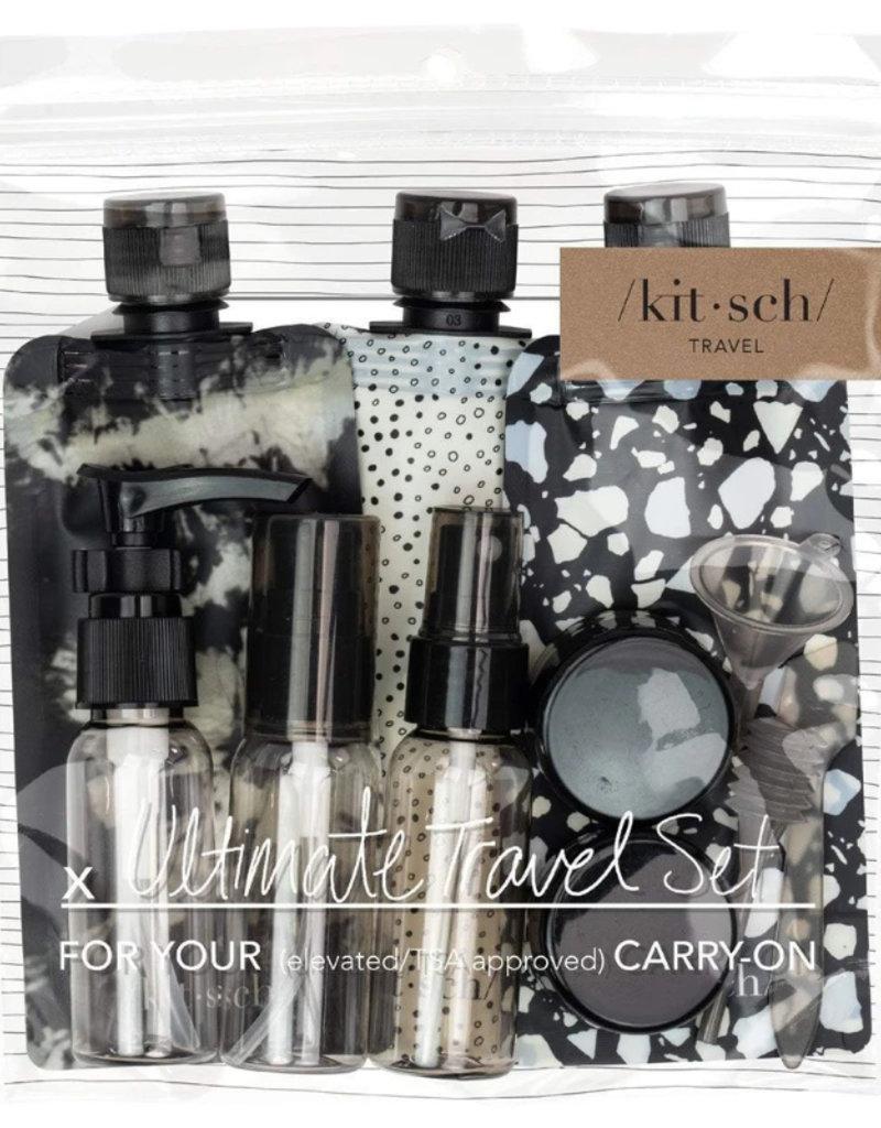 Kitsch Travel Set- Black