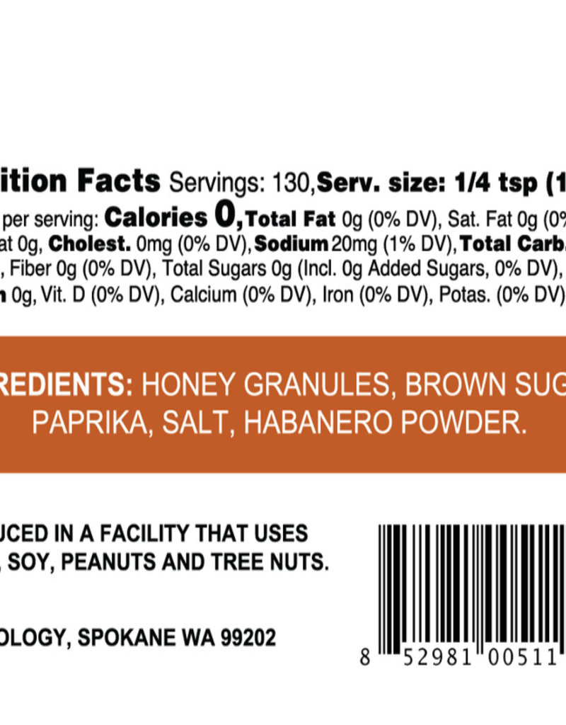 Smoky Honey Habanero Sweet & Spicy Rub