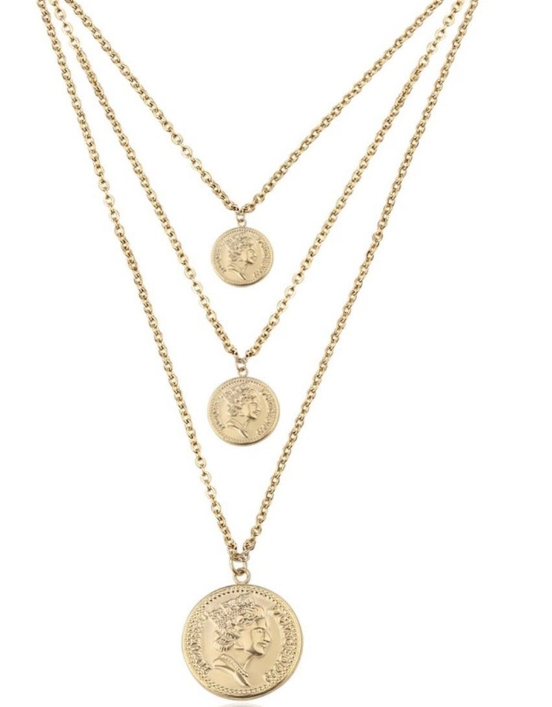 Bracha Pesos Necklace