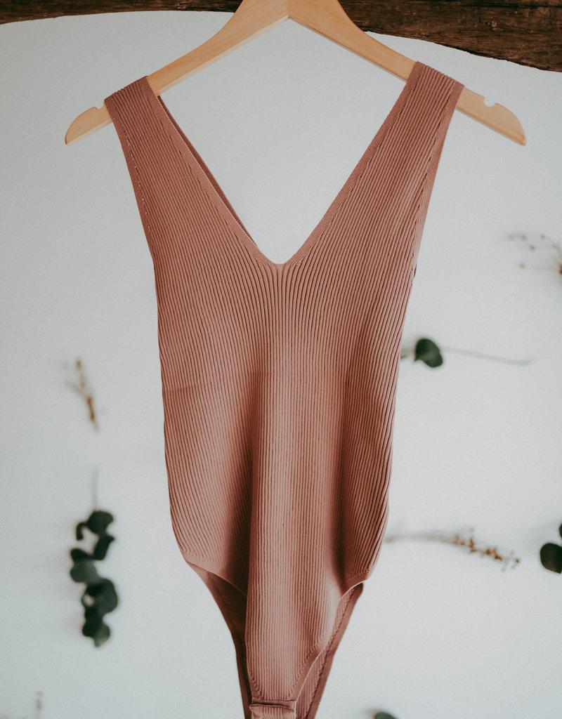 Double V Bodysuit
