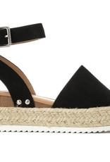 Topic Platform Sandals-BLK