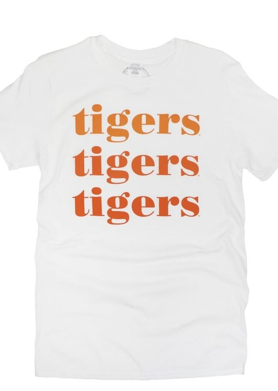 Tigers On Repeat Tee
