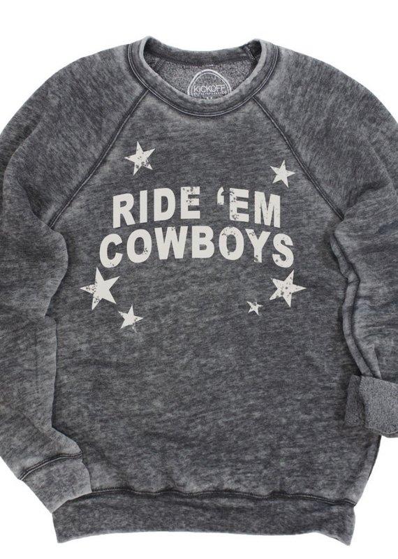 Ride 'Em Cowboys Pullover
